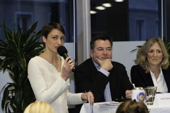 Sophie von Puttkamer im Gespräch mit Josef Schmid und Sabine Nallinger
